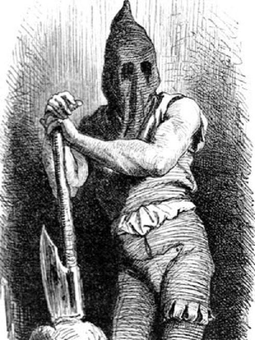 verdugo mitos de terror