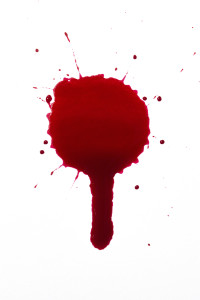 gota sangre